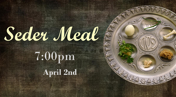 Maundy Thursday Seder Meal